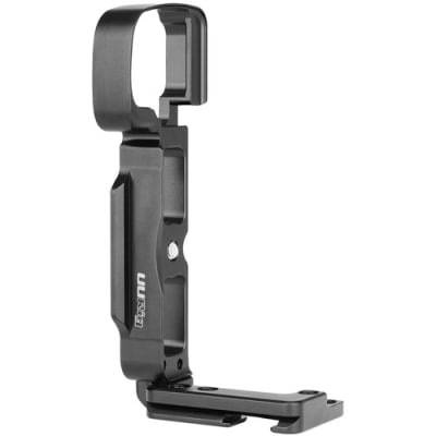 UURIG R006 VLOGGER L-BRACKET CAGE WITH MIC COLD SHOE FOR SONY A6400