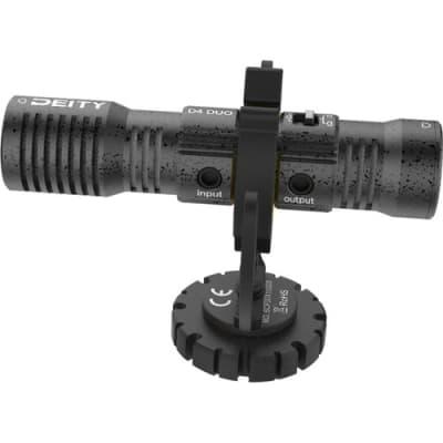 DEITY D4 DUO DUAL-CAPSULE MICRO CAMERA-MOUNT SHOTGUN MICROPHONE