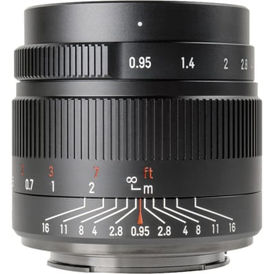 7 ARTISANS 35MM F/0.95 FOR FUJI FX-MOUNT / APS-C