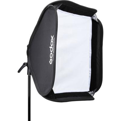 "GODOX SGUV6060 S2 BOWENS MOUNT BRACKET WITH SOFTBOX & CARRYING BAG KIT (23.6 X 23.6"")"