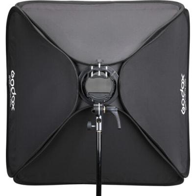 "GODOX SGGV8080 S2 BOWENS MOUNT BRACKET WITH SOFTBOX, GRID & CARRYING BAG KIT (31.5 X 31.5"")"