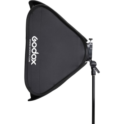 "GODOX SGGV8080 S2 BOWENS MOUNT BRACKET WITH SOFTBOX, GRID & CARRYING BAG KIT (31.5 X 31.5"")"