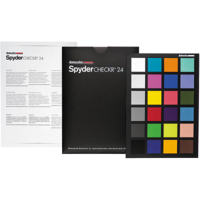DATACOLOR SPYDER CHECKR 24 COLOR CHECKER