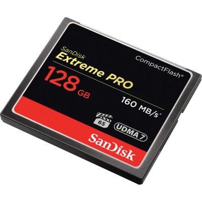 SANDISK 128GB CF EXTREME PRO 160MBPS