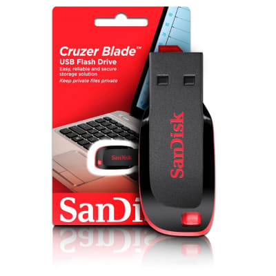 SANDISK 32GB CRUZER BLADE PENDRIVE