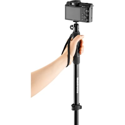 MANFROTTO MPCOMPACT-BK COMPACT XTREME 2-IN-1 PHOTO MONOPOD AND POLE