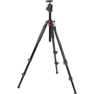 MANFROTTO MK055XPRO3-BHQ2 ALUMINIUM 3-SECTION TRIPOD WITH XPRO BALL HEAD + 200PL PLATE