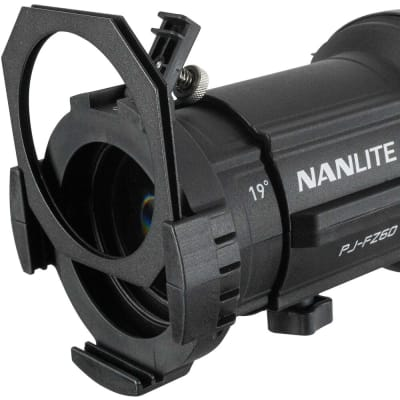 NANLITE PROJECTION ATTACHMENT MOUNT FOR FORZA 60 WITH19°LENS - PJ-FZ60-19