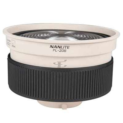 NANLITE FL-20G FRESNEL LENS FOR FORZA 300/ 500 (WITH BARNDOOR)