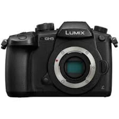 Panasonic Lumix DC-GH5GA-K 4K Camera Body