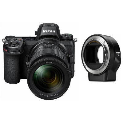 NIKON Z6 WITH 24-70MM + MOUNT ADAPTER (FTZ)