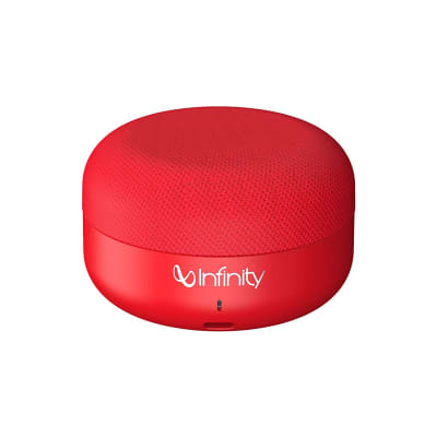 INFINITY CLUBZ MINI PORTABLE WIRELESS SPEAKER RED BY HARMAN JBL