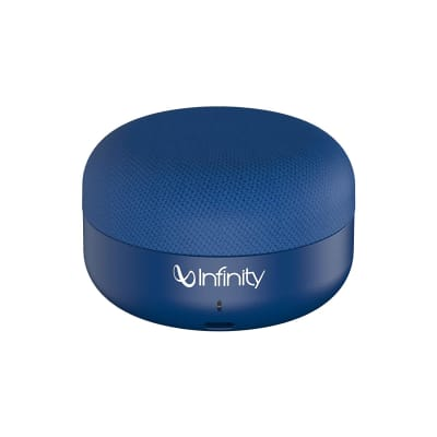INFINITY CLUBZ MINI PORTABLE WIRELESS SPEAKER BLUE BY HARMAN JBL
