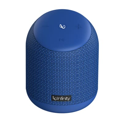 INFINITY CLUBZ 250 PORTABLE BLUETOOTH SPEAKER BLUE BY HARMAN JBL