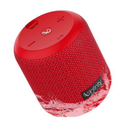 INFINITY CLUBZ 150 PORTABLE BLUETOOTH SPEAKER RED BY HARMAN JBL
