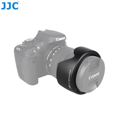 JJC EW-73B LENS HOOD REPLACEMENT FOR CANON EF-S 18-135MM F/3.5-5.6