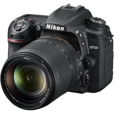 NIKON D7500 WITH 18-140MM