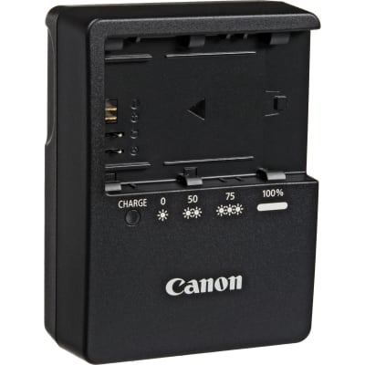CANON LC-E6E CHARGER FOR LP-E6 / LP-E6N BATTERY PACK