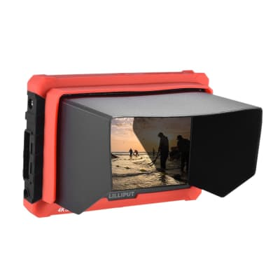 """LILLIPUTA7S 7"""" FULL HD MONITOR WITH 4K SUPPORT (RED CASE)"""