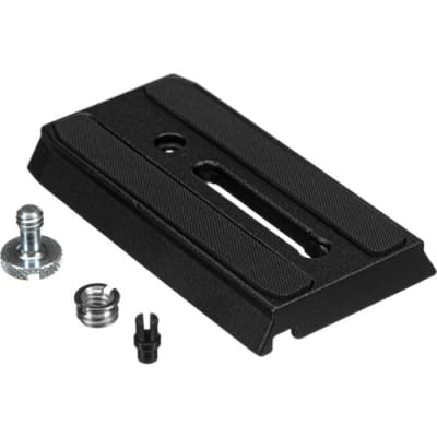 """MANFROTTO 501PL SLIDING QUICK RELEASE PLATE WITH 1/4""""-20 SCREW"""