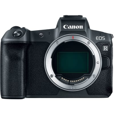 CANON EOS R BODY WITH MOUNT ADAPTER