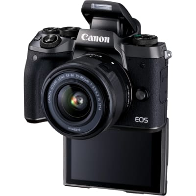 CANON M5 WITH 15-45MM IS STM LENS