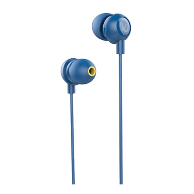 INFINITY WYND 220 IN-EAR DEEP BASS HEADPHONES WITH MIC BLUE BY HARMAN JBL