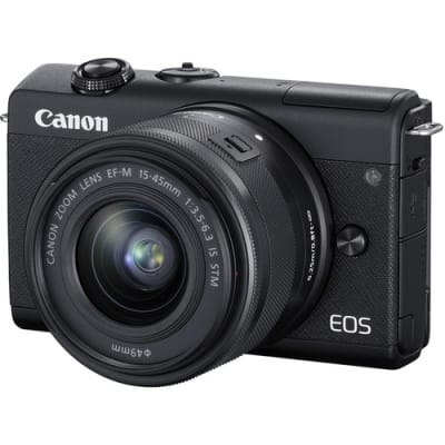 CANON M200 WITH 15-45MM IS STM LENS
