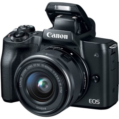 CANON M50 WITH 15-45MM IS STM LENS