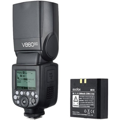 GODOX V860II KIT FOR CANON