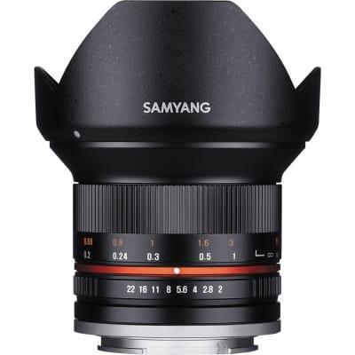 SAMYANG 12MM F2.0 NCS CS PHOTO MANUAL CAMERA LENS FOR FUJI X MOUNT