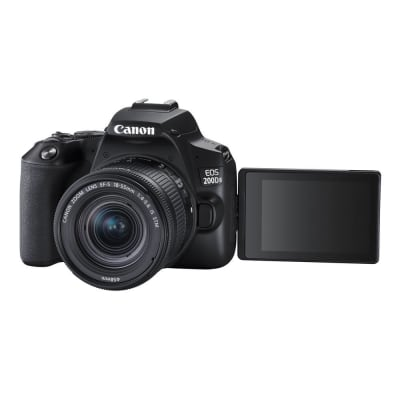CANON 200D MARK 2 WITH 18-55 ND 55-250MM STM LENS