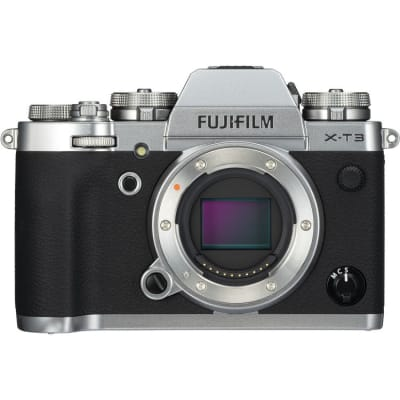 FUJI X-T3 BODY ONLY SILVER