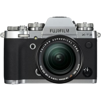 FUJI X-T3 WITH 18-55MM KIT EE C SILVER