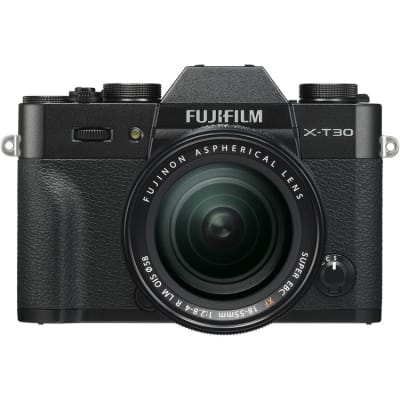 FUJI X-T30 WITH 18-55MM KIT EE C BLACK