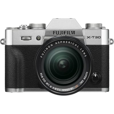 FUJI X-T30 WITH 18-55MM KIT EE C SILVER