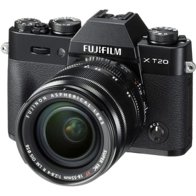 FUJI XT20 WITH 18-55MM KIT BLACK