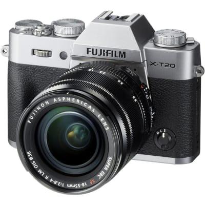 FUJI XT20 WITH 18-55MM KIT SILVER