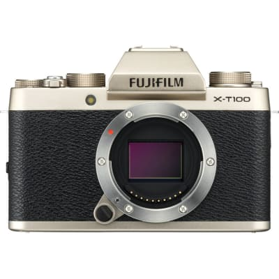 FUJI X-T100 BODY ONLY CHAMPAGNE GOLD