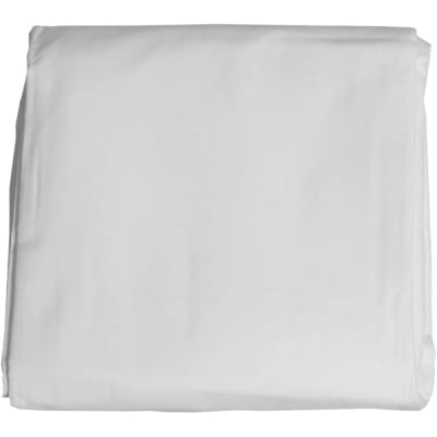 RELIABLE 6X10 WHITE CLOTH BACKGROUND (6FT X 10FT)