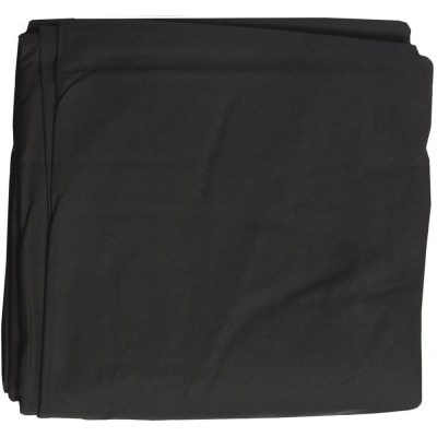 RELIABLE 6X10 BLACK CLOTH BACKGROUND (6FT X 10FT)