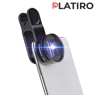 PLATIRO ROUND 1.33X ANAMORPHIC LENS FOR MOBILE PHONE CINEMATOGRAPHY
