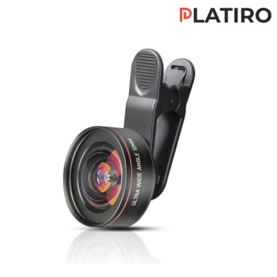PLATIRO 12MM ULTRA WIDE ANGLE ASPHERIC CLIP LENS FOR MOBILE PHONES