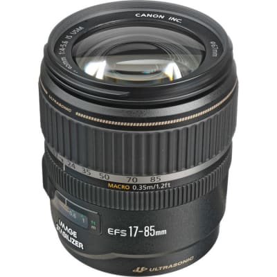 CANON EF S 17-85MM F/4-5.6 IS USM