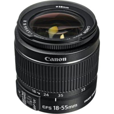 CANON EF S 18-55MM 3.5-5.6 IS II