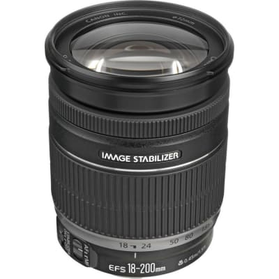 CANON EF S 18-200 MM F/3.5-5.6 IS