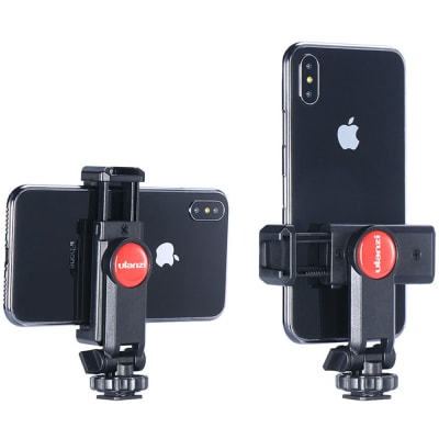 ULANZI ST-06 SMARTPHONE MOUNT WITH COLD SHOE