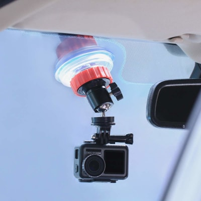ULANZI U-50 SUCTION CUP BRACKET FOR GOPRO, DJI AND OSMO ACTION CAMERAS
