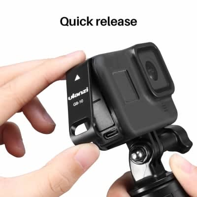ULANZI G8-10 PLASTIC BATTERY COVER REMOVABLE TYPE-C CHARGING PORT ADAPTER FOR GOPRO HERO BLACK 8