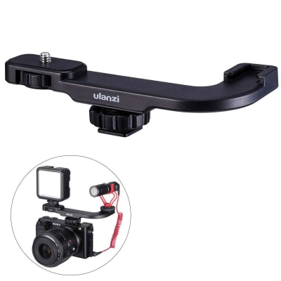 ULANZI PT-8 HOT SHOE MICROPHONE EXTENSION MOUNT